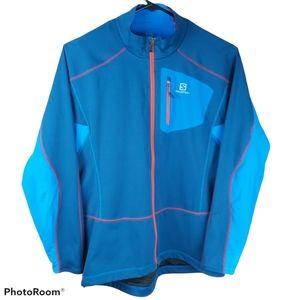 Salomon running outdoors sports jacket XXL